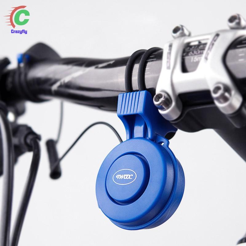 RockBros Cycling Headlight Solar USB Charging 350 Lumen Light 120dB Horn White