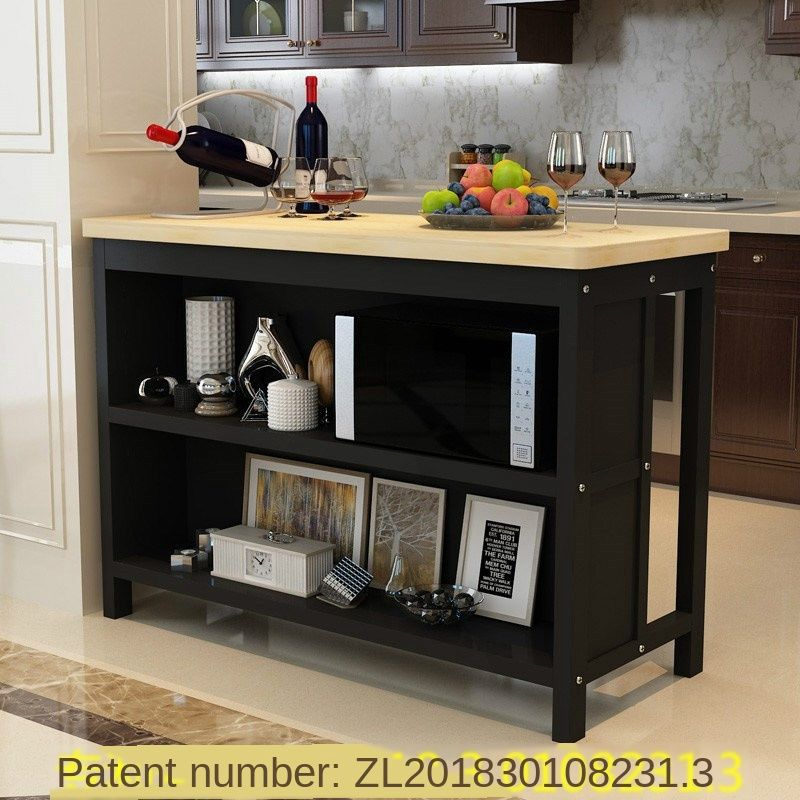 Solid Wood Bar Table Home Simple Modern High Table Living Room Partition Cabinet Central Island Kitchen Bar Table And Chair Combination Shopee Singapore