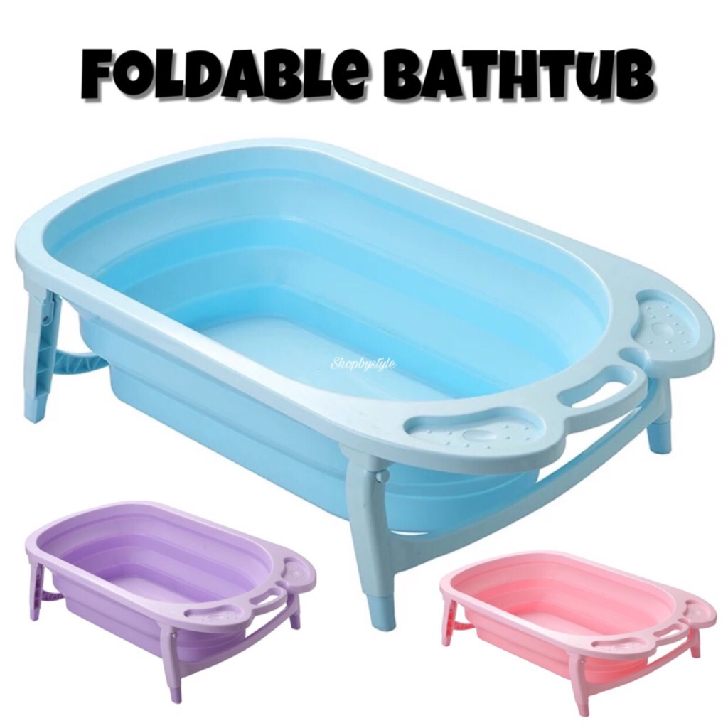 Baby Foldable Bathtub | Shopee Singapore