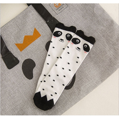 For Age 0-1 Baby Kids Toddlers Girls Knee High Socks Tights Leg Warmer Stockings Gray Owl
