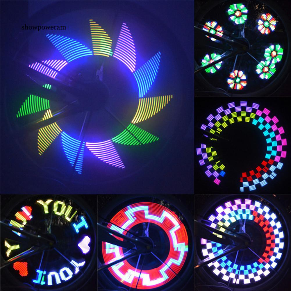 32 LED Change Bicycle Wheel Tire Flash Spoke Signal Light For Bike Safety Sweet