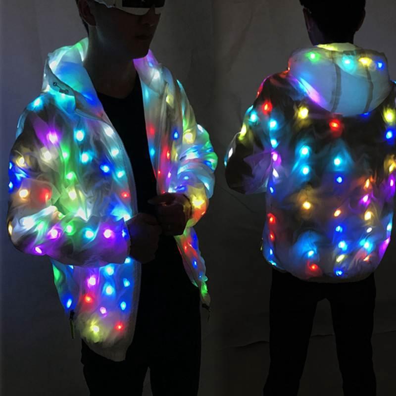 Colorful Led Luminous Costume
