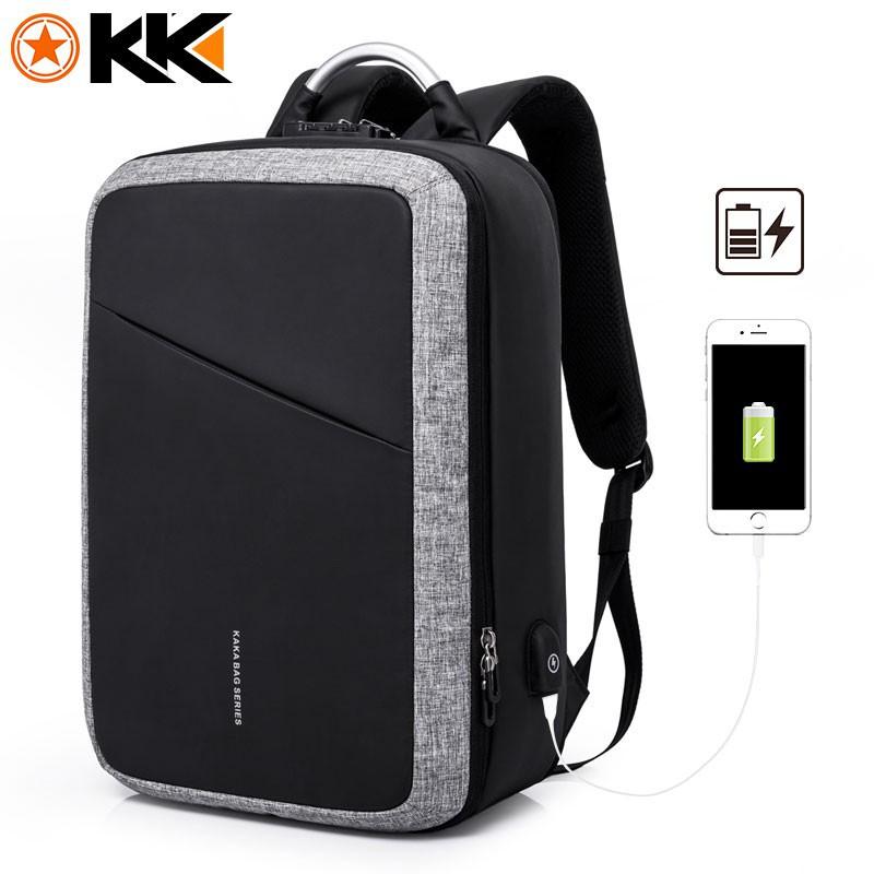 64e0e32f2a81 Luxury Unisex TSA Lock Laptop Backpack fits up to 15.6