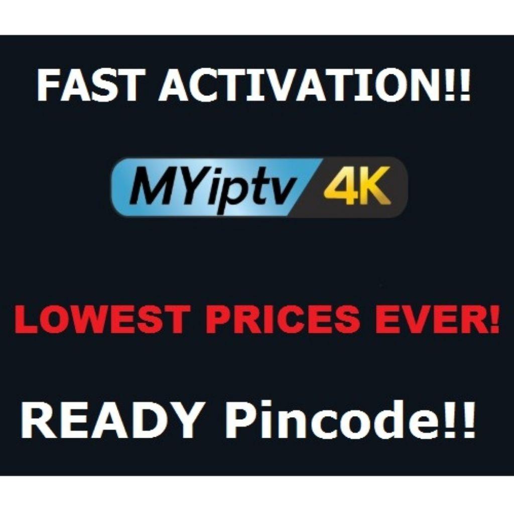Authorized MYIPTV4K / MYIPTV Subscription DEALER