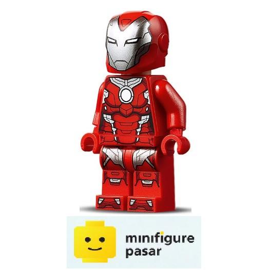 Pepper Potts sh665 Lego Figure Rescue - Red Armor