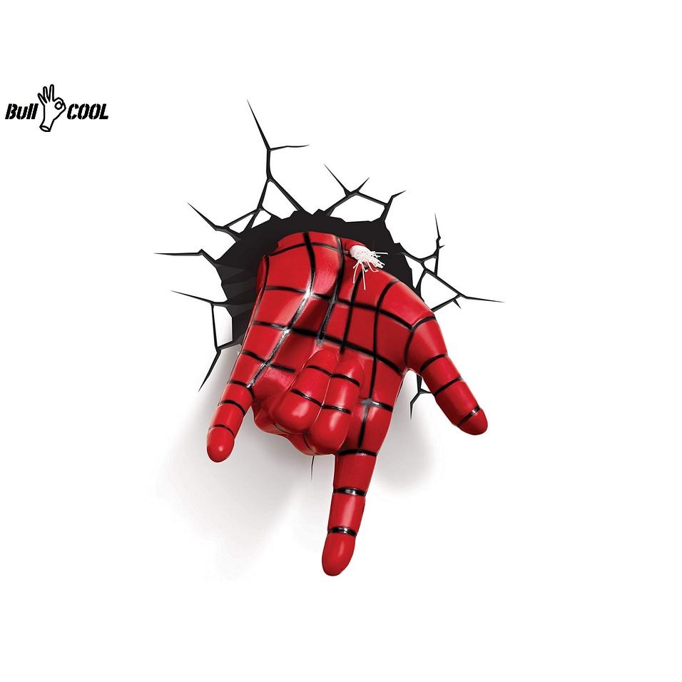 Light Fx Marvel Spiderman Hand Deco Led Wall