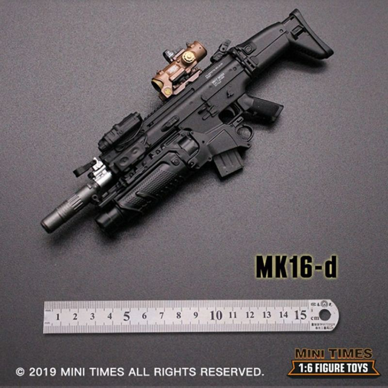 Mk17 B Special Operations Forces Combat Assault Rifle SCAR 1//6 Mini Times USA