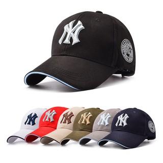 Men-Women-NY-Snapback-Baseball-Caps-Casual-Solid-