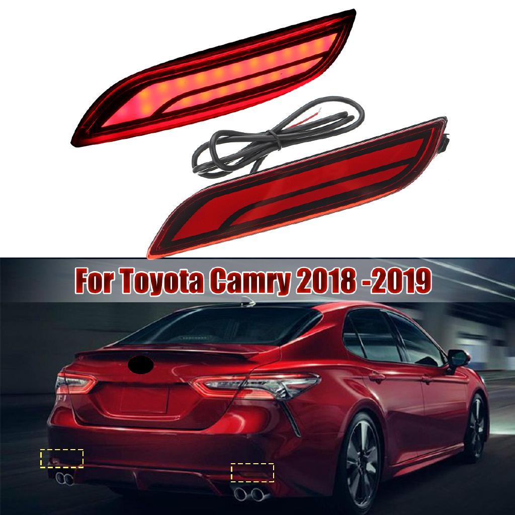 Car Led Light Rear Warning Bumper Light Brake Light Rear For Toyota