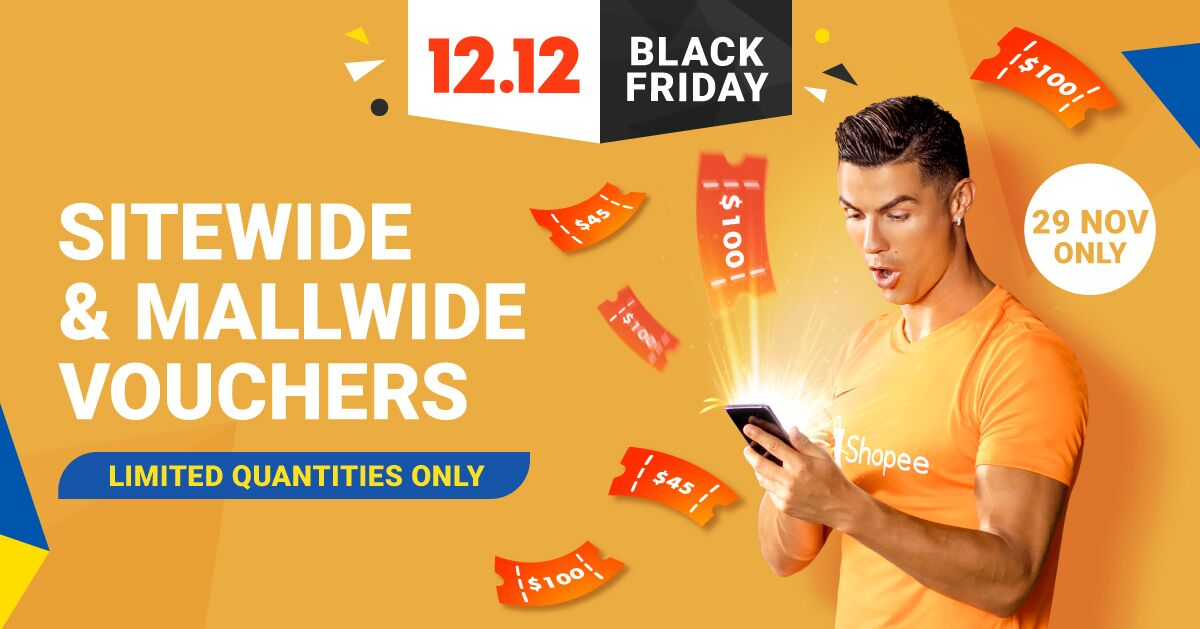 Black Friday Sale 2019 Up To 90 Off Tech Deals Shopee Singapore 12 12