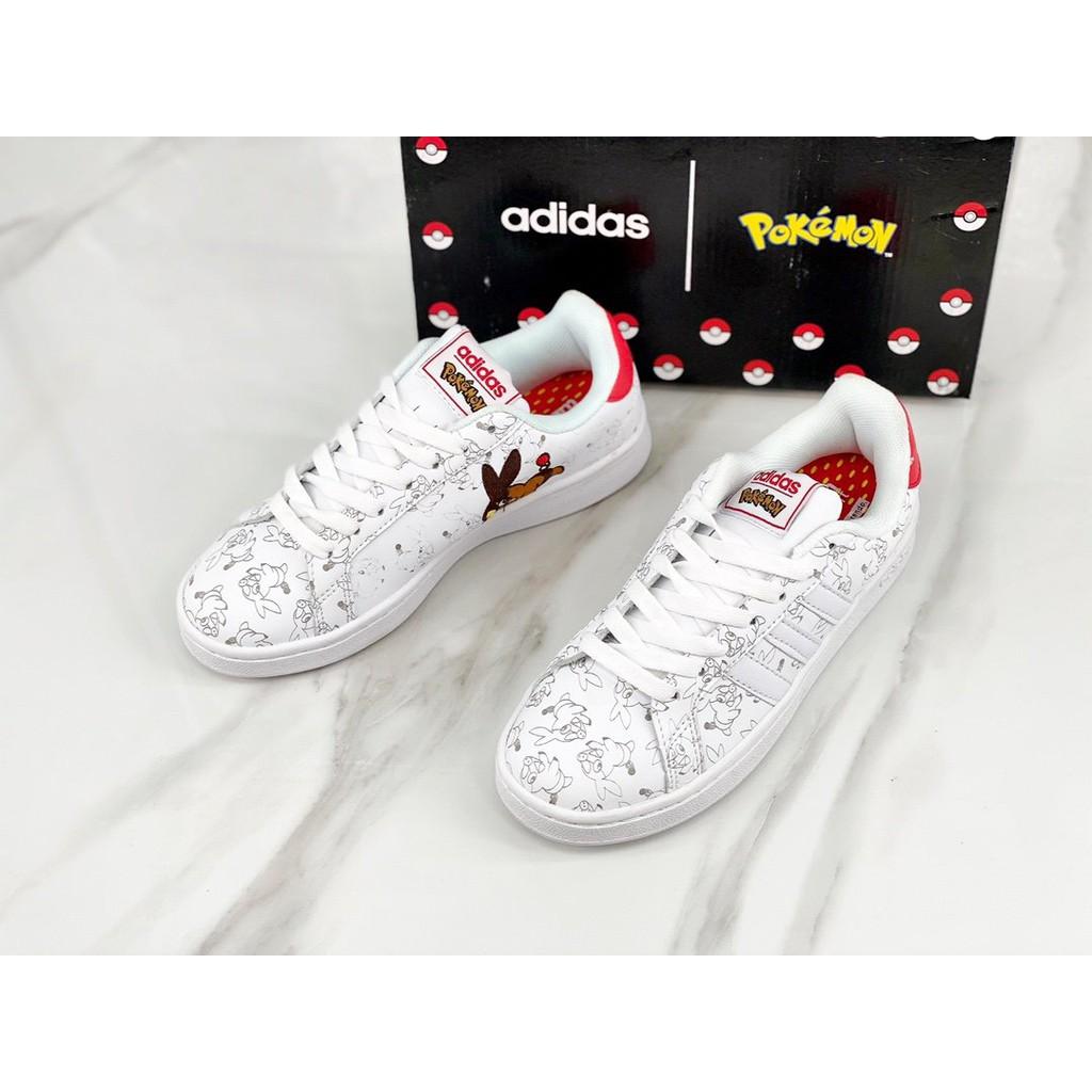 Quagga Máxima Tratado  cod!Adidas Stan Smith x Pokemon Pokémon Pikachu Clover Joint Smith Sports  Sneakers | Shopee Singapore