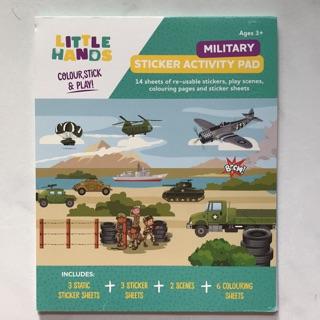 Sticker Activity Book <Military> | Shopee Singapore