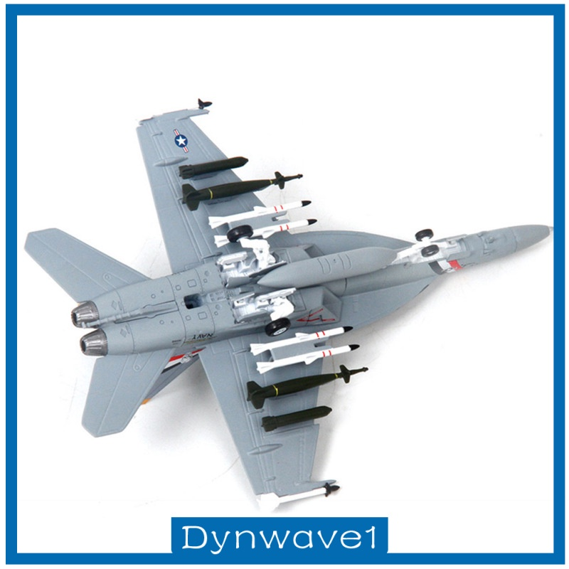Dynwave1 1 100 F18 Aircraft Static Model Airplane With Display Stand Collection Gifts Shopee Singapore