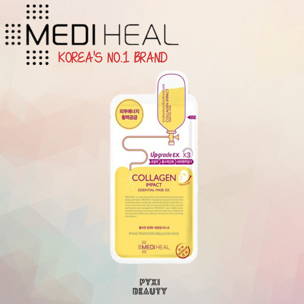 Mediheal Collagen Impact Mask Sheet Shopee Singapore Essential
