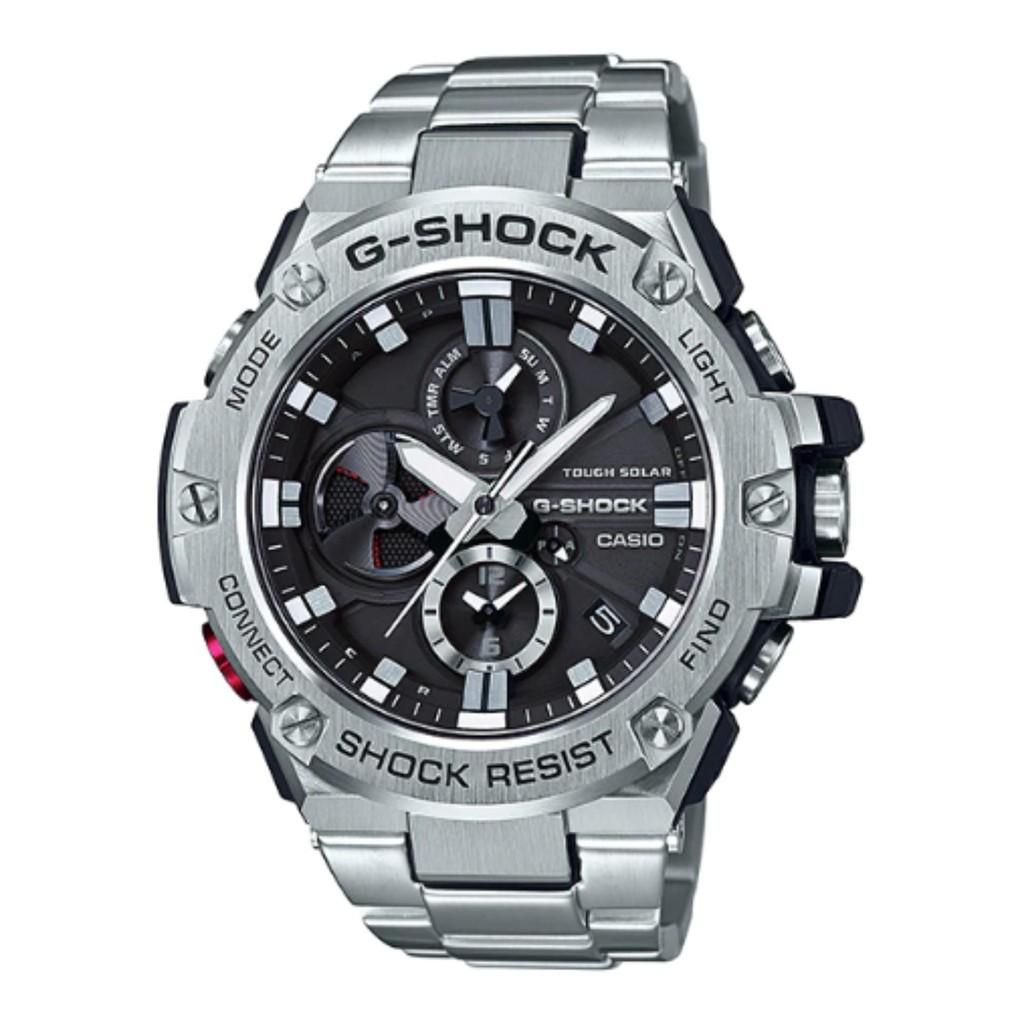 Casio G Shock Steel Gst 210b 1a Shopee Singapore