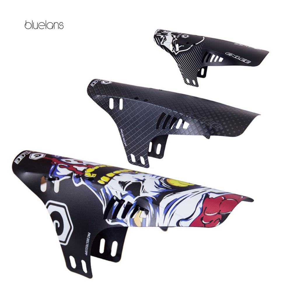 【Bluelans】Outdoor Mountain Bike Bicycle Road Tire Front Rear Mudguard  Fender Mud Guard Kit