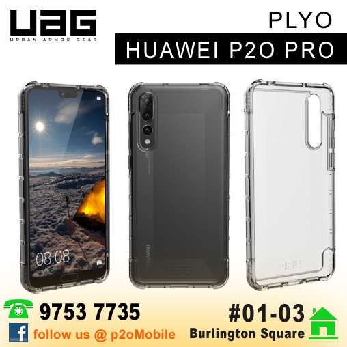 save off df53b 7a555 UAG Plyo for Huawei P20 Pro