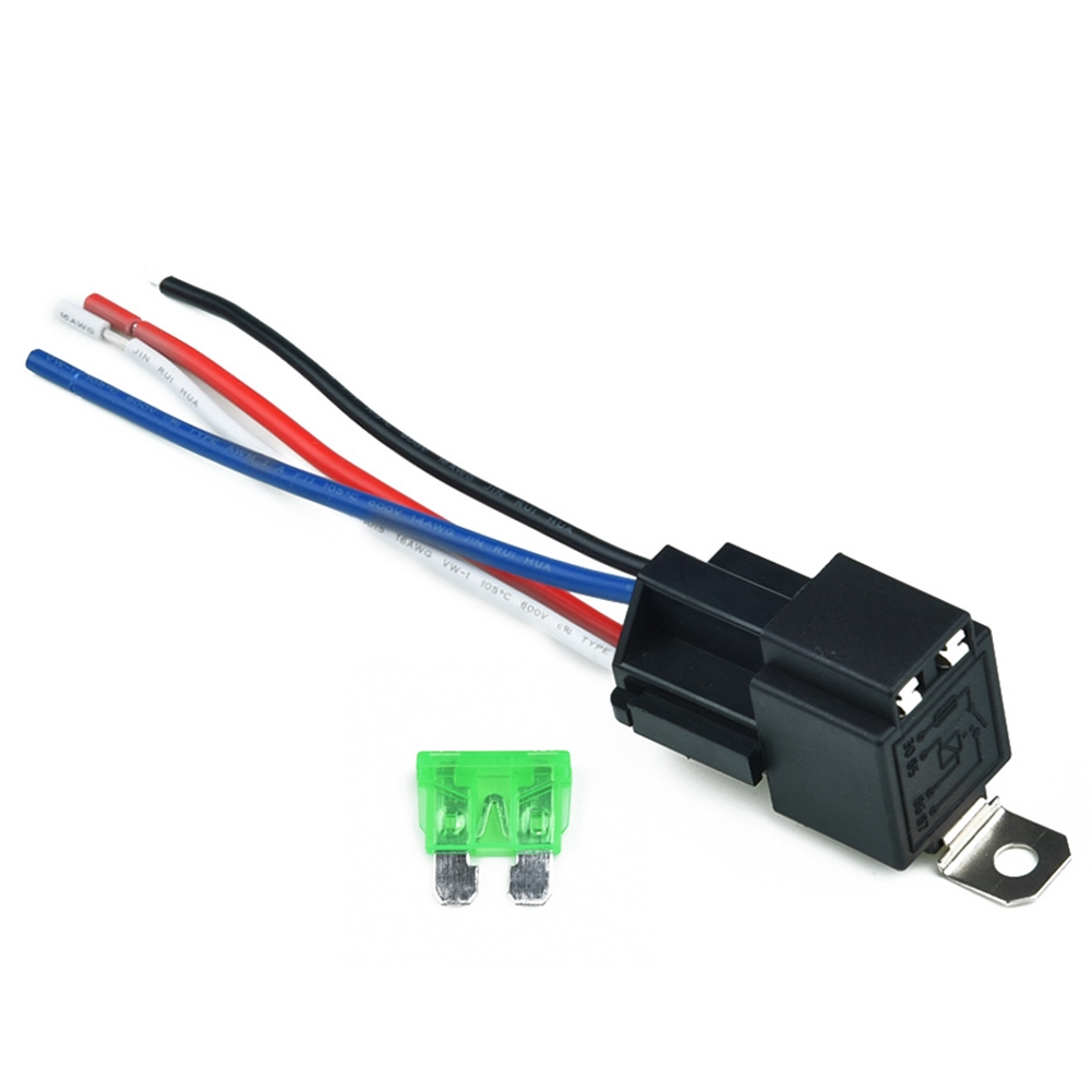 Practical Car Amp With Socket Base  Wires  Fuse Polyamide 4