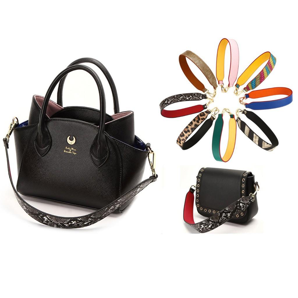 2pcs//lot 62cm Leather Bag Strap Handle Shoulder Bag Belt Band for Handbag Fad SG