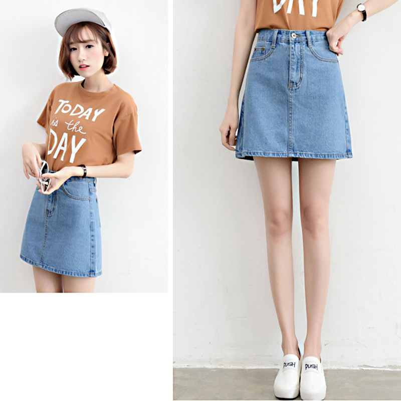 f12251aad3 Buy denim skirt Online - Sale - , Jun 2019 | Shopee Singapore