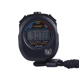 Waterproof Digital Running Stopwatch Clock Timer Counter