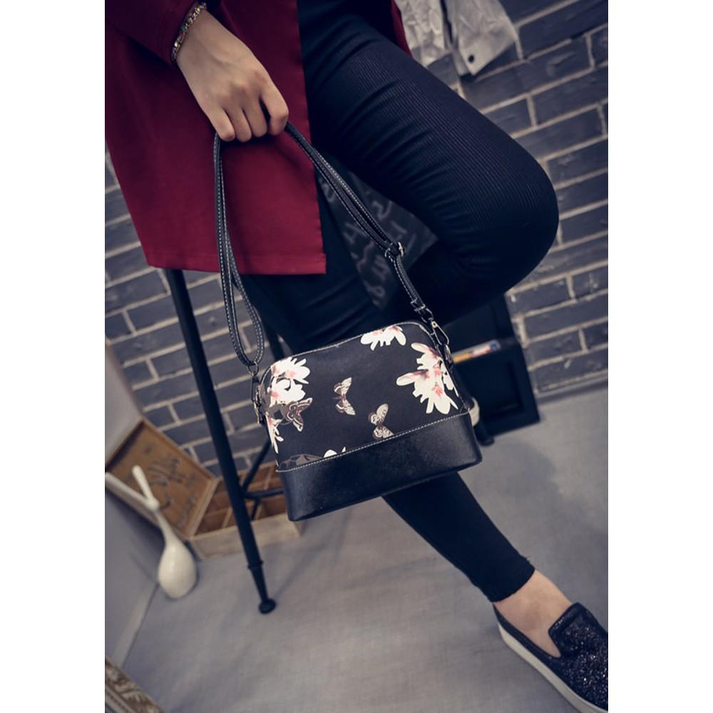 niceEshop Waterproof Nylon Multi-pocket Women Messenger Bag | Shopee Singapore