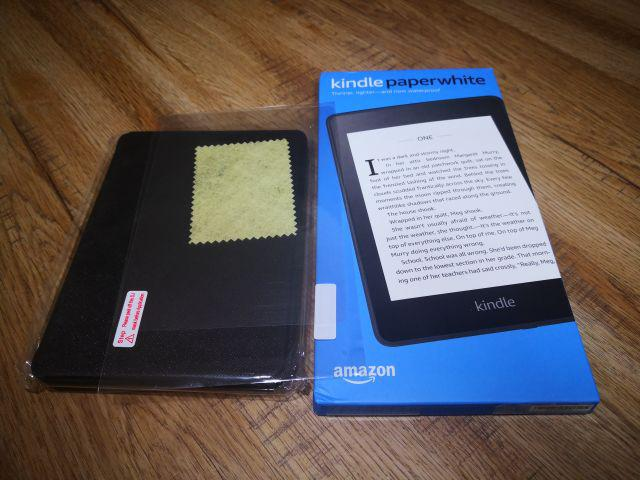 Kindle Paperwhite 2018 Waterproof, all new kindle free case + screen