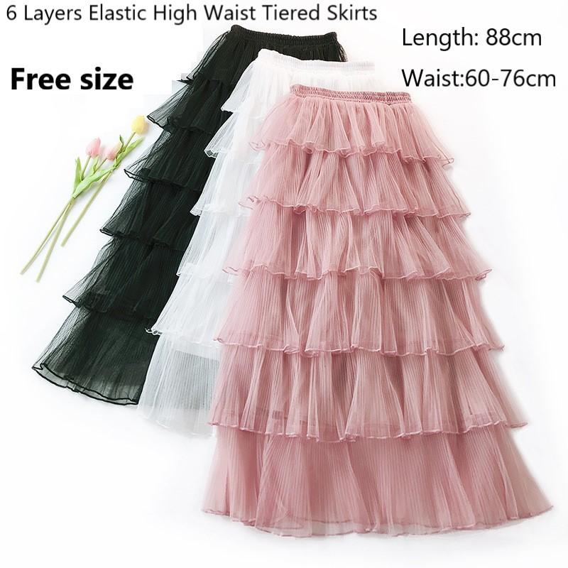 de4c45fc5 Buy layered skirt Online - Sale - Women's Apparel, Jun 2019 | Shopee  Singapore