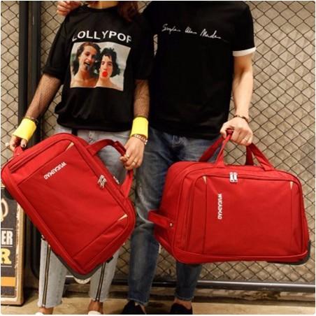 Travel Luggage Duffle Bag Lightweight Portable Handbag Purple Circuit Print Large Capacity Waterproof Foldable Storage Tote