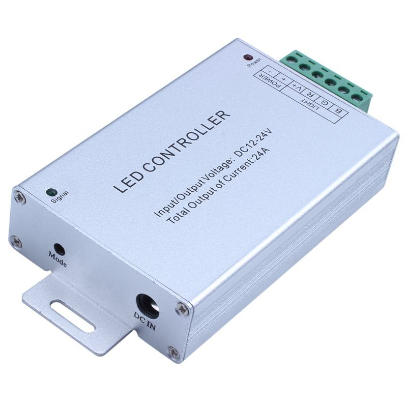 New DC 12V 24A 288W 44key IR Remote Control RGB 3528 5050 SMD LED Strip MH
