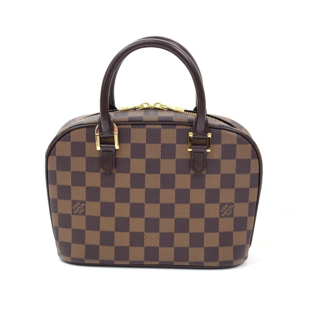 0dd479f32b97 Louis Vuitton Hampstead PM Ebene Damier Canvas Hand Bag