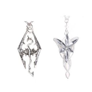 Lord of the rings elf princess aragorn arwen silver dragon pendant lord of the rings elf princess aragorn arwen silver dragon pendant necklace shopee singapore aloadofball Images