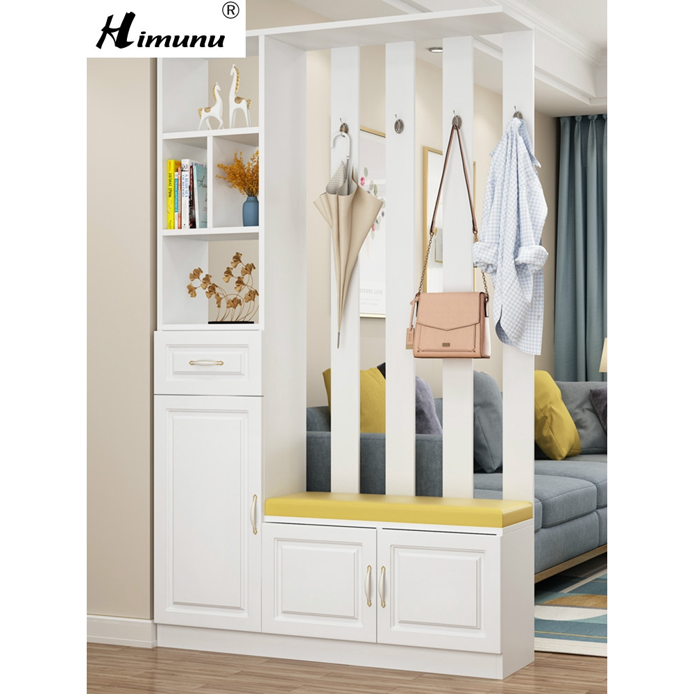Himunu Wine Cabinet Modern Simple Living Room Shoe Cabinet Integrated  Partition Decorative Cabinet