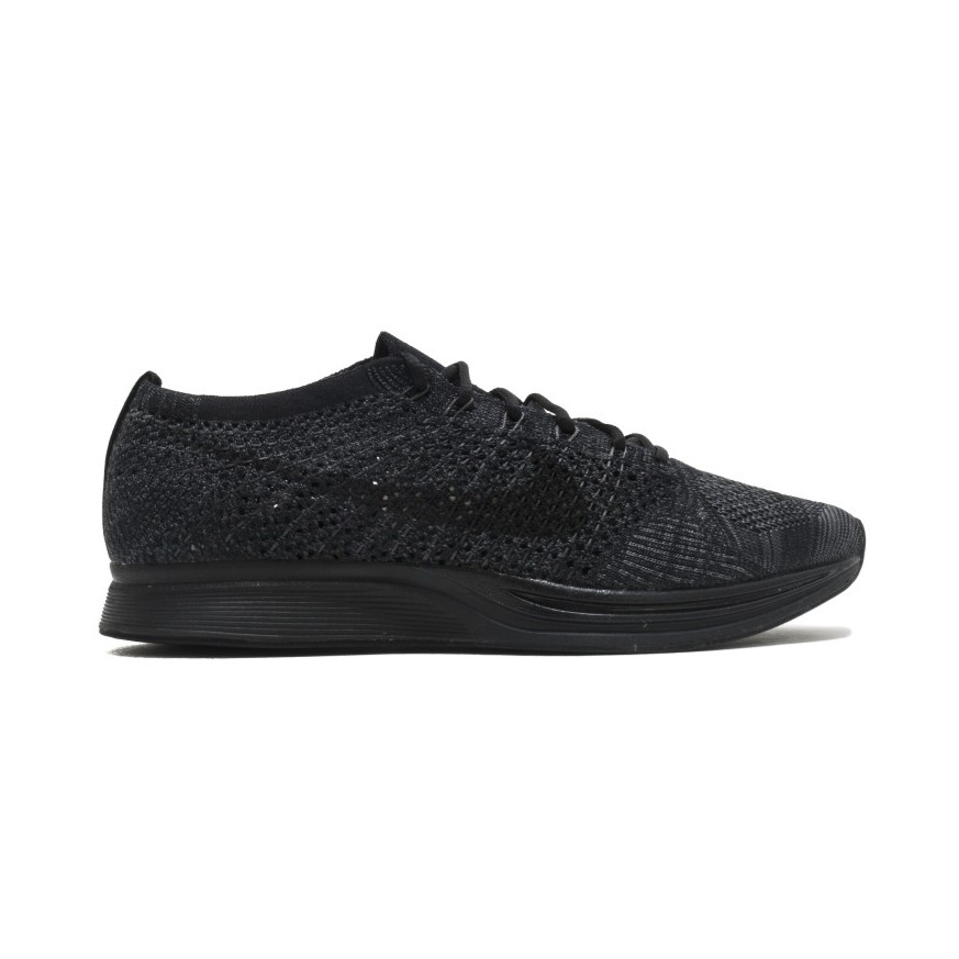 19110c986f35 New Authentic Nike Flyknit Racer Unisex Glow Yellow Strike Black EUR ...