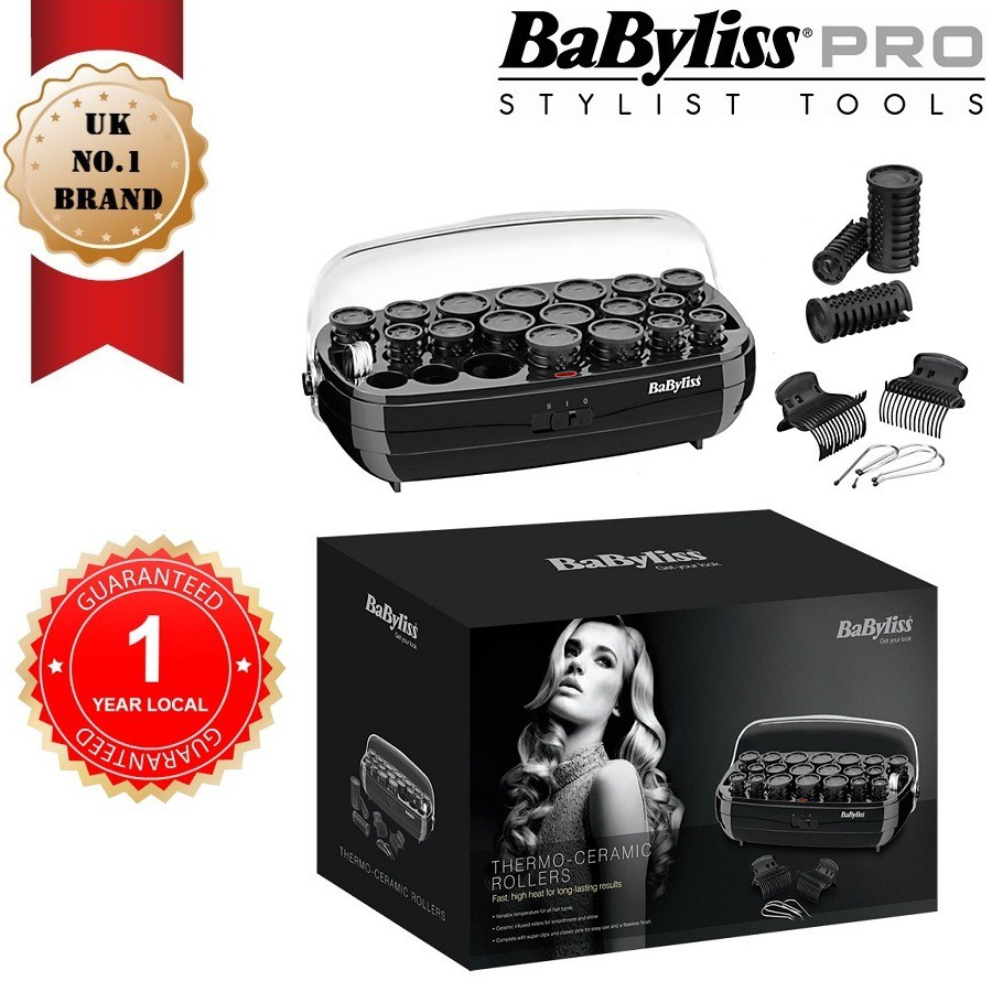 BABYLISS 3045U Heated Thermo-Ceramic Hair Rollers Variable Temperature  Control  b06dfa5c82