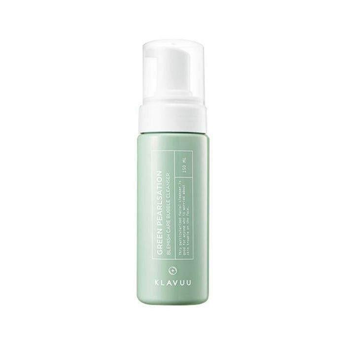 KLAVUU Green Pearlsation Blemish Care Bubble Cleanser 150ml