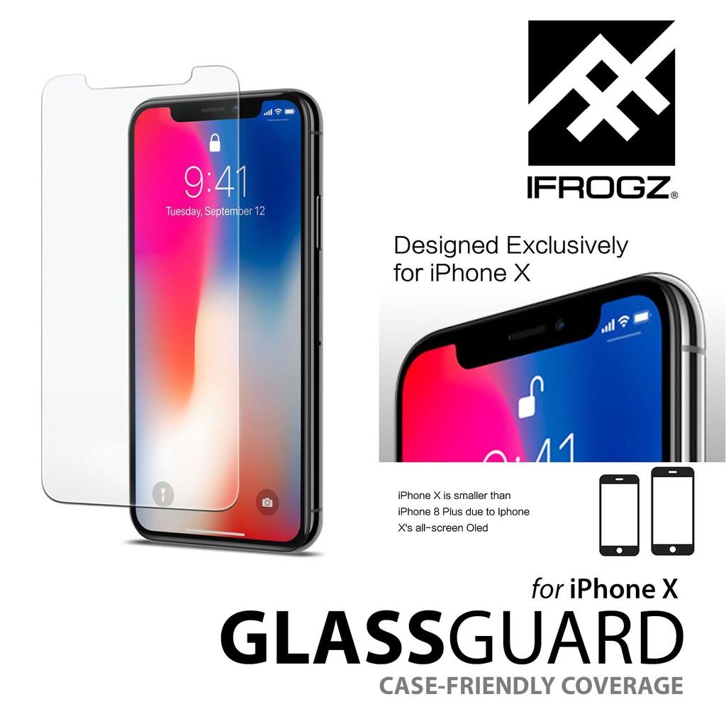 new style 01edf 0e0a7 ZAGG iFrogz GlassGuard Screen for iPhone X