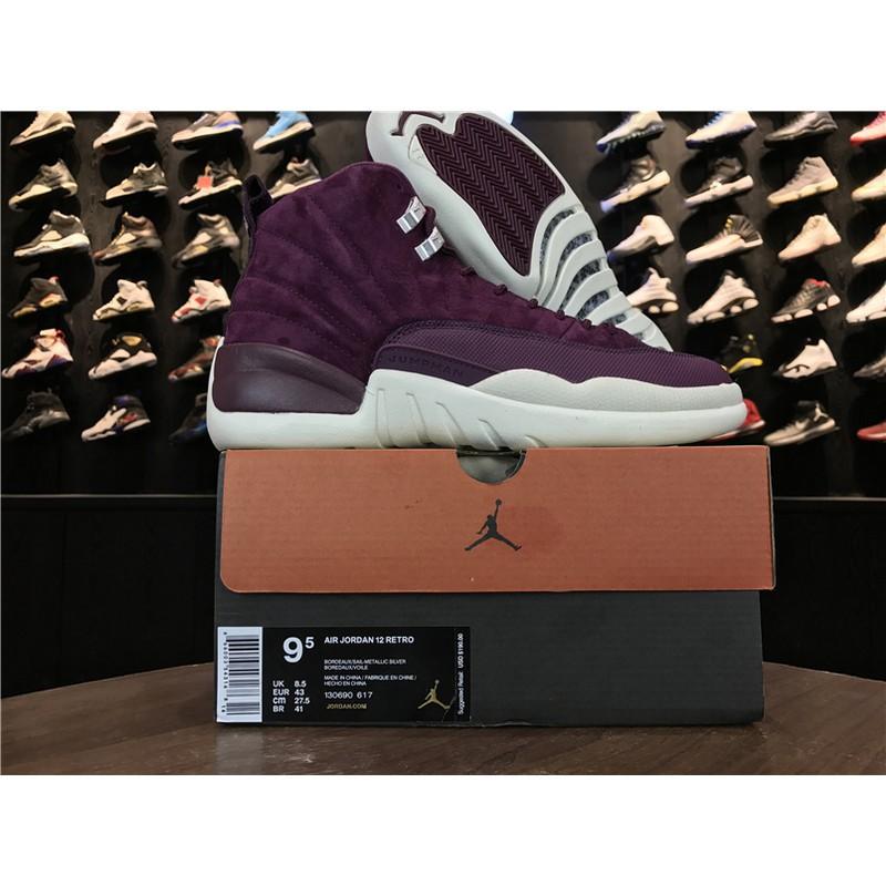 f628af2571f9bf Men s Nike Air Jordan 12 Retro Breathable Basketball Shoes130690-617 ...