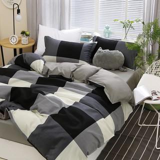 Bedding Set Single Queen King Size Bedsheet Quilt Cover J Creative E
