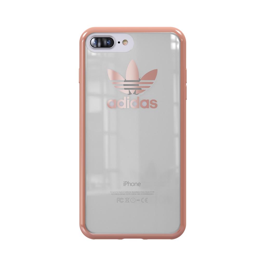 new style 59678 a04cb Adidas Originals iPhone 7/8 Plus Trefoil Clear Case