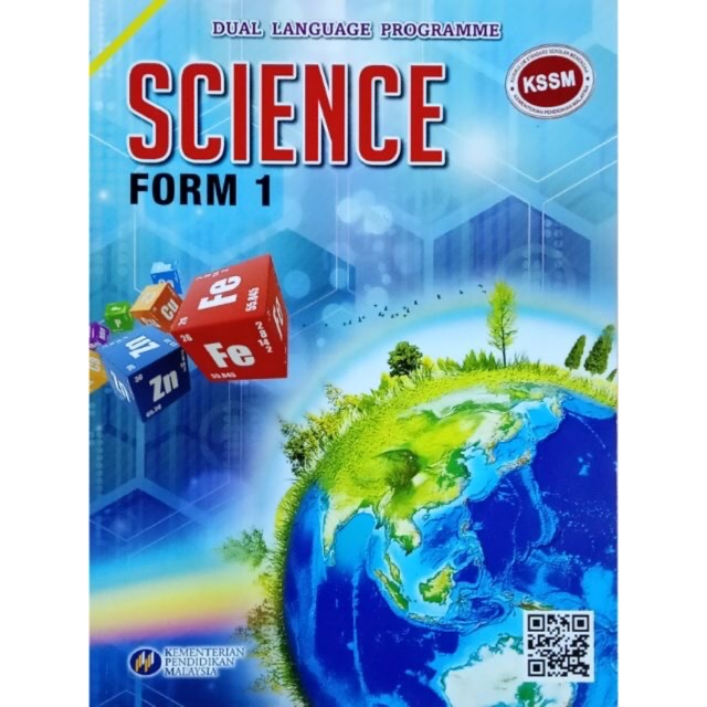 Textbook Dlp Science Form 1 Kssm Shopee Singapore