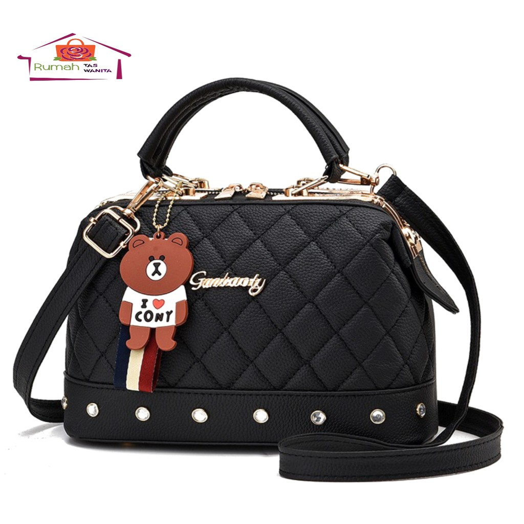 Women's Handbags With Embroidered Boxes And Hangers Cute Toys Bags For  Women's Office Sling Bags | Shopee Singapore