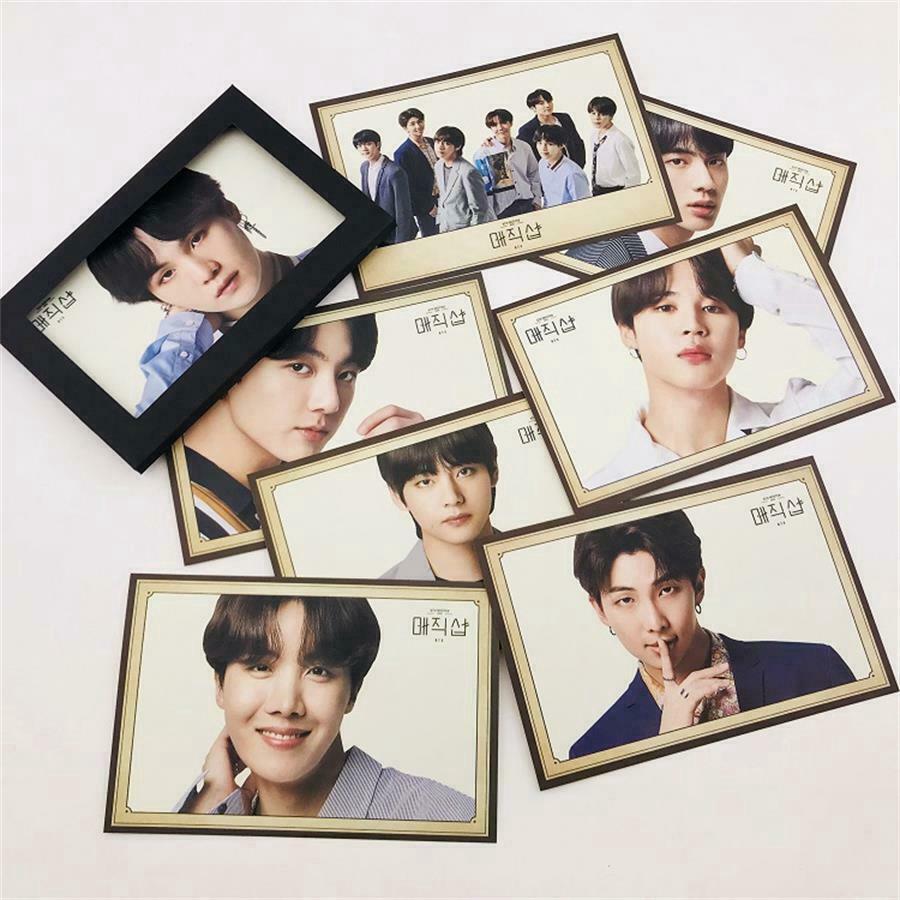 Kpop BTS 2019 5th Muster Polaroid Photo Cards HD Postcard