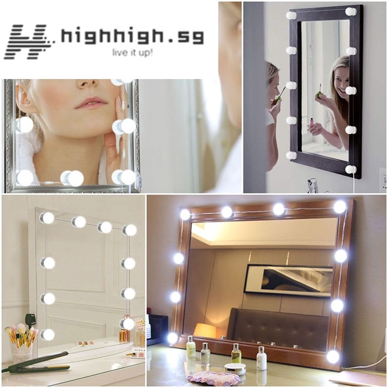 Hollywood Style Led Vanity Mirror, Makeup Mirror Light Not Working