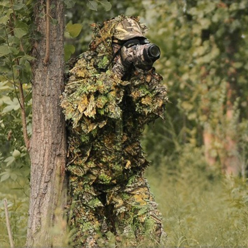 4f224d24f8c Camouflage Jungle Hunting Ghillie Suit