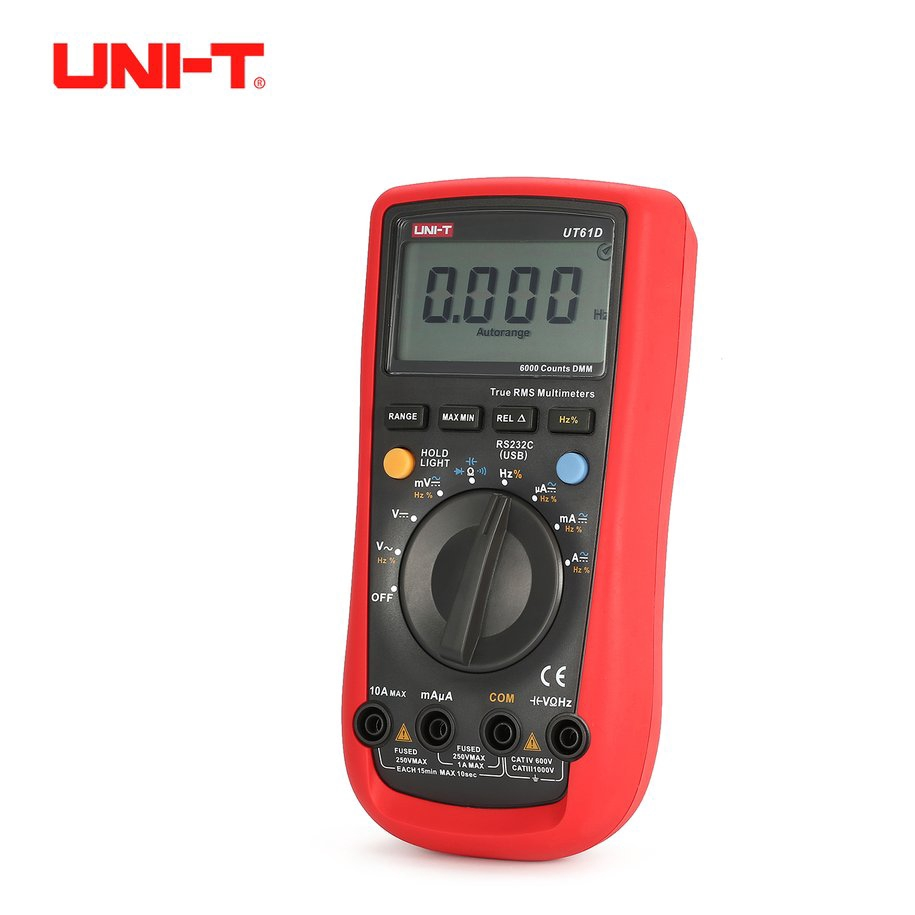 ZT102 Digital Multimeter 6000 Counts Backlight AC/DC Meter Ammeter Voltmeter | Shopee Singapore