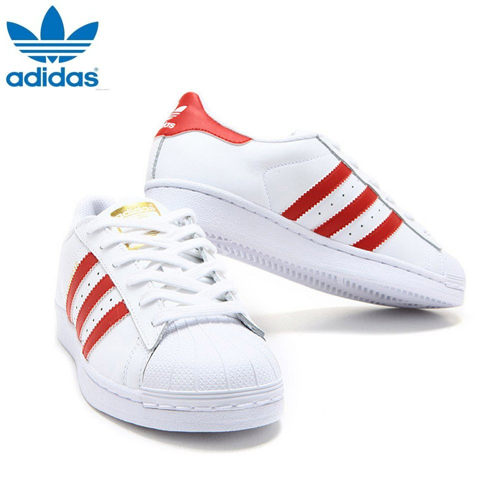adidas superstar scarlet