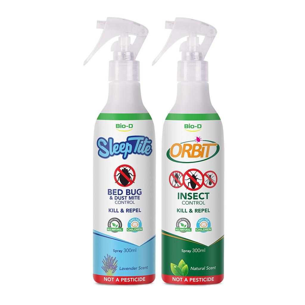 Bio D Orbit Insect Control Spray 300ml X2 Natural Lavender