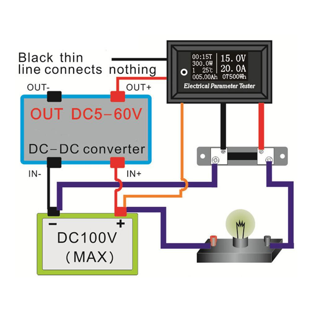 12 60v Lead Acid Battery Capacity Led Indicator Digital Voltmeter Dt830d Multimeter Circuit Diagram Tester New Shopee Singapore