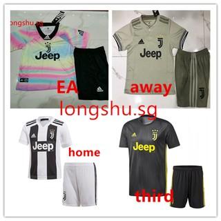 best service 5d05b 86e1f Youth 2018-2019 Juventus home Away third EA Uniform KIDS ...